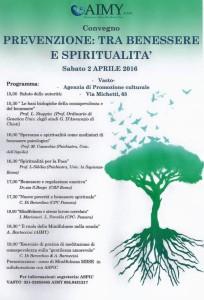 seminario benessere e spiritualità